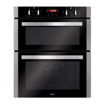 CDA Built-under Stainless Steel Double Electric Oven DC740SS