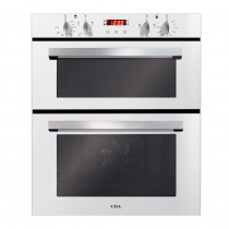 CDA Built-under White Double Electric Oven DC740WH