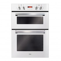 CDA Built-in Electric Double White Oven DC940WH