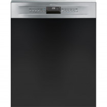 Smeg DD612 Stainless Steel Semi Integrated Dishwasher