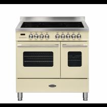 Britannia Delphi 90cm Induction Twin Oven Range Cooker Cream RC-9TI-DE-CR  544440751