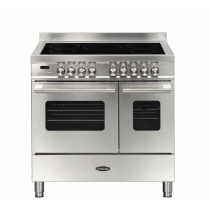 Britannia Delphi 90cm Induction Twin Oven Range Cooker Stainless Steel RC-9TI-DE-S  544440155