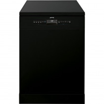 Smeg 60cm Black Freestanding Dishwasher DF613PBL