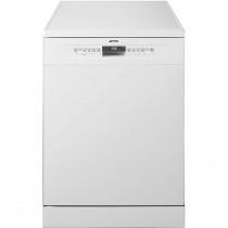 Smeg 60cm White Freestanding Dishwasher DF613PW