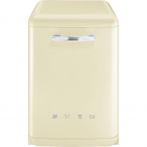 Smeg 60cm Cream 50's Style Freestanding Dishwasher DF6FABCR