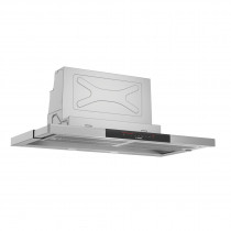 Bosch Serie 8 90cm Brushed Steel Telescopic Hood