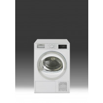 Smeg DHT81LUK Freestanding White Condenser Dryer