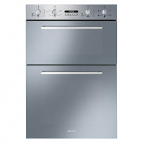 Smeg Cucina Built-In 60 Stainless Steel Double Oven