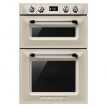 Smeg Victoria Built-In 60 Cream Double Oven