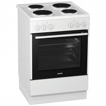 Gorenje White 60cm Single Oven Electric Cooker E613E17WKE