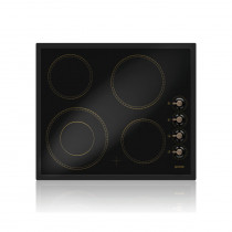 Gorenje Classico ECK63CLB 60 Black Ceramic Hob with 4 Zones