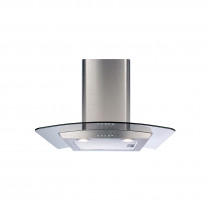 CDA 60 Stainless Steel Curved Glass Extractor Hood