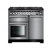 Rangemaster Encore Deluxe 100 Dual Fuel Stainless Steel Range Cooker EDL100DFFSS/C 117250