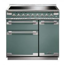 Rangemaster Elise 100 Induction Mineral Green Range Cooker ELS100EIMG/ 127050
