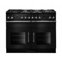 Rangemaster Esprit 110 Dual Fuel Black Range Cooker ESP110DFFBL/C