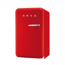 Smeg FAB10LR 50's Retro Style Red Fridge with Ice Box