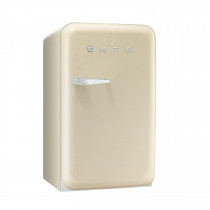 Smeg FAB10RP 50's Retro Style Cream Fridge with Ice Box