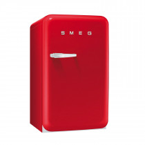 Smeg FAB10RR 50's Retro Style Red Fridge with Ice Box