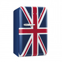 Smeg FAB10RUJ 50's Retro Style Union Jack Fridge with Ice Box