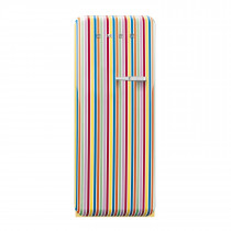Smeg FAB28YCS1 50's Retro Style Colour Stripe Fridge with Ice Box