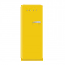 Smeg FAB28YG1 50's Retro Style Yellow Fridge with Ice Box