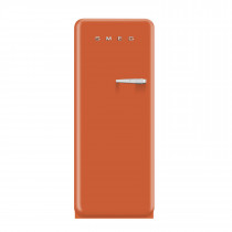 Smeg FAB28YO1 50's Retro Style Orange Fridge with Ice Box