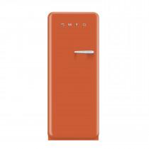 Smeg FAB28YO1 50's Retro Style Orange Fridge with Ice Box