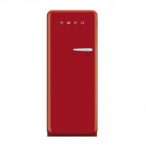 Smeg FAB28YR1 50's Retro Style Red Fridge with Ice Box