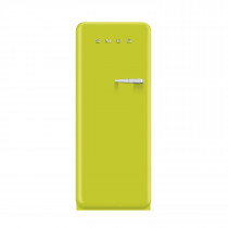 Smeg FAB28YVE1 50's Retro Style Lime Green Fridge with Ice Box