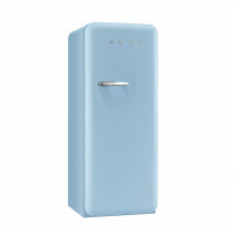 Smeg FAB28QAZ1 50's Retro Style Pastel Blue Fridge with Ice Box