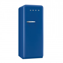 Smeg FAB28QBL1 50's Retro Style Blue Fridge with Ice Box