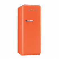 Smeg FAB28QO1 50's Retro Style Orange Fridge with Ice Box