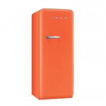Smeg FAB28QO1 50's Retro Style Orange Fridge with Ice Box