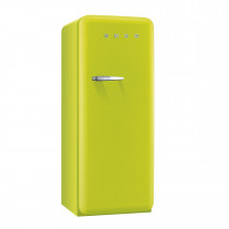 Smeg FAB28QVE1 50's Retro Style Lime Green Fridge with Ice Box