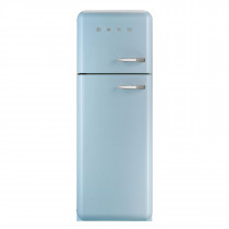 Smeg FAB30LFA 50's Retro Style Pastel Blue Fridge Freezer