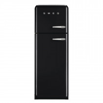 Smeg FAB30LFN 50's Retro Style Black Fridge Freezer