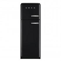 Smeg FAB30LFN 50's Retro Style Black Fridge Freezer
