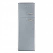 Smeg FAB30LFS 50's Retro Style Silver Fridge Freezer