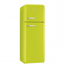Smeg FAB30RFL 50's Retro Style Lime Green Fridge Freezer