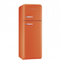 Smeg FAB30RFO 50's Retro Style Orange Fridge Freezer