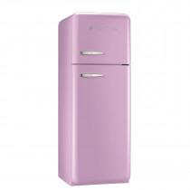 Smeg FAB30RFP 50's Retro Style Pink Fridge Freezer