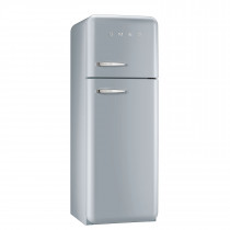 Smeg FAB30RFS 50's Retro Style Silver Fridge Freezer
