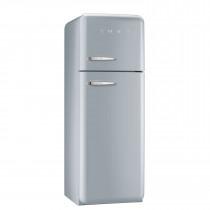 Smeg FAB30RFS 50's Retro Style Silver Fridge Freezer