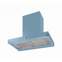 Falcon 1090 Contemporary Cooker Hood China Blue Nickel