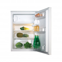 CDA Freestanding Undercounter Fridge with Icebox A+ Rated - FF151WH