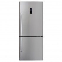CDA Freestanding Frost Free Stainless Steel Fridge Freezer FF770SS