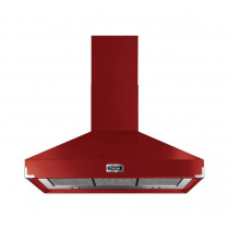 Falcon 1000 Super Extract Cherry Red Cooker Hood