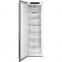 Smeg FI360LX 60cm Classic Stainless Steel Integrated In Column Frost Free Freezer