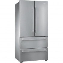 Smeg 84cm Stainless Steel Freestanding Two Door Fridge Freezer FQ55FX1