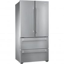 Smeg 84cm Stainless Steel Freestanding Two Door Fridge Freezer FQ55FX1